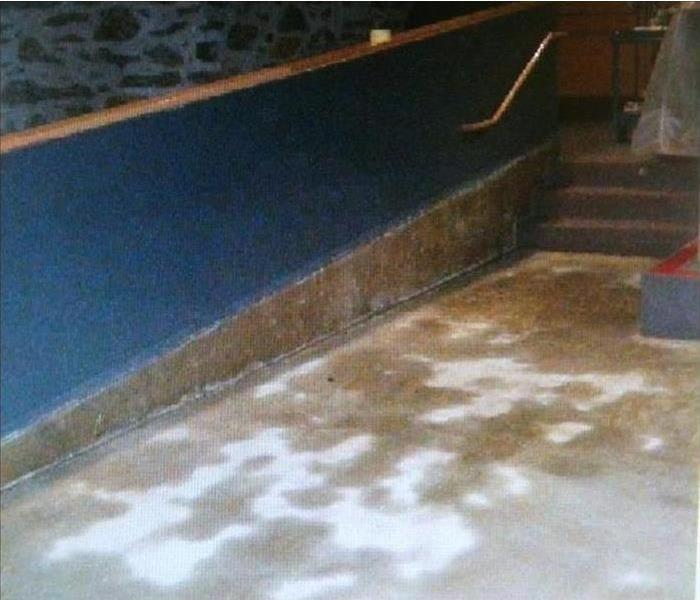Commercial Water Damage – Bakersfield Movie Theater Before