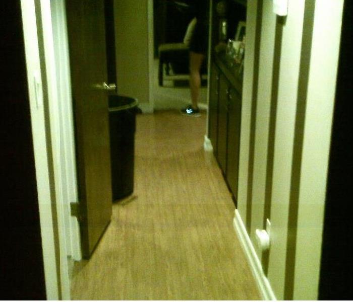 Damage to Laminate Flooring