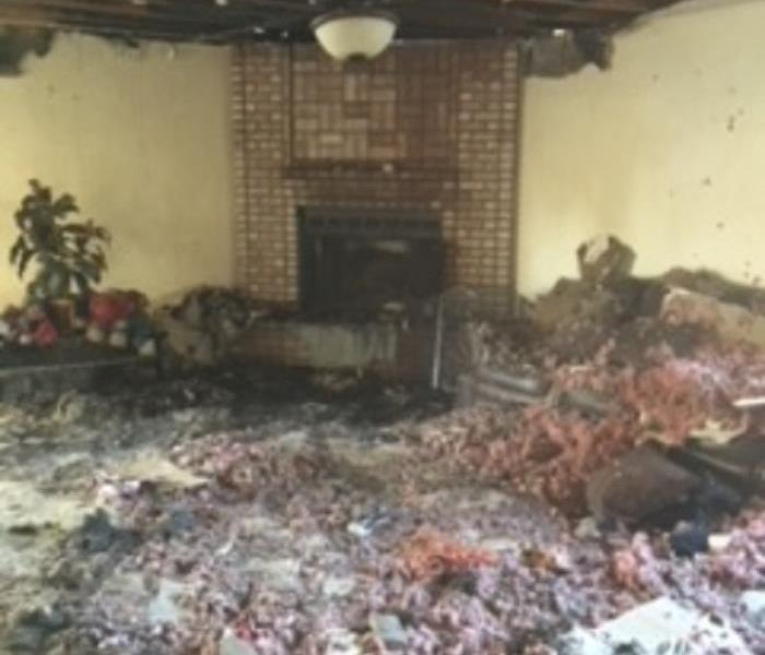 Chimney Fire Damages Home